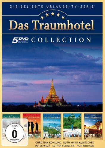 1 von 1 - 5 DVDs * DAS TRAUMHOTEL - SAMMELBOX 4  u.a. Marokko , Tobago  # NEU OVP )