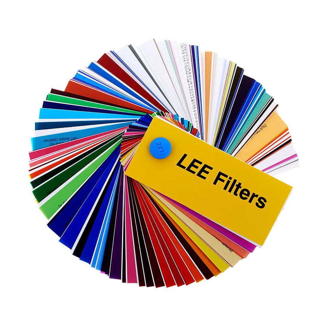 Lee Lighting Gel Filter Sheets 20