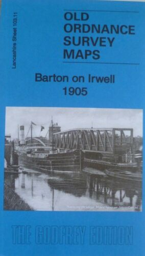 OLD ORDNANCE SURVEY MAPS BARTON ON IRWELL LANCASHIRE 1905 Clearance Offer