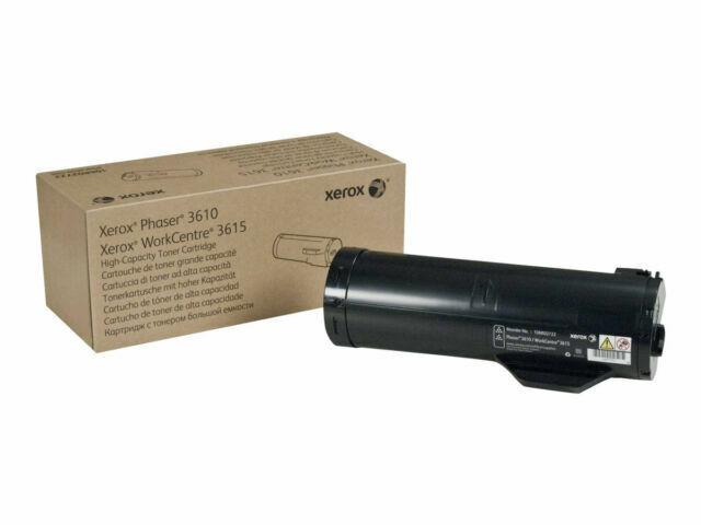 Genuine Xerox 3610 & 3615 Black Toner Cartridge 106R02724 Br