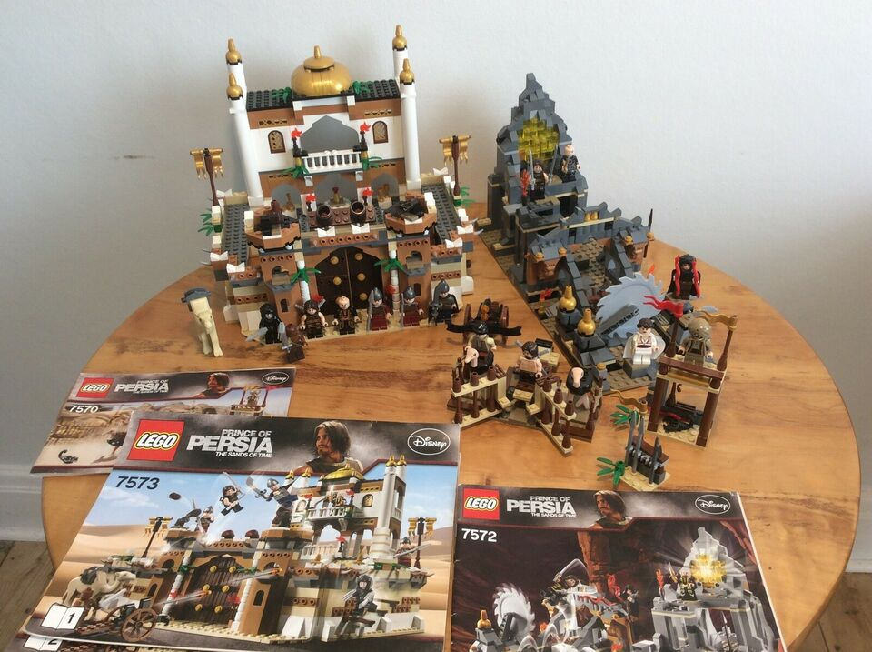 Lego Prince of Persia, 7570, 7572 & 7573
