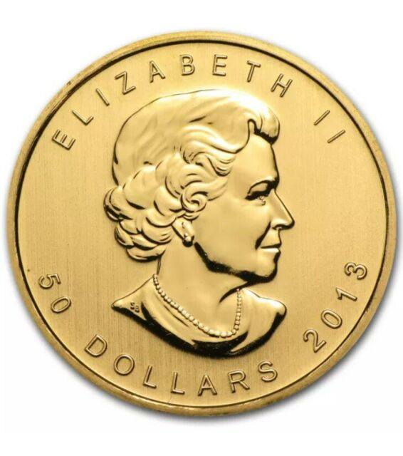 2013 Canada 1 oz Gold Maple Leaf Coin