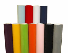 Sticky Back Plastic Self Adhesive Vinyl Wrap Orla Kiely Pastel Leaves 100cm x 1m