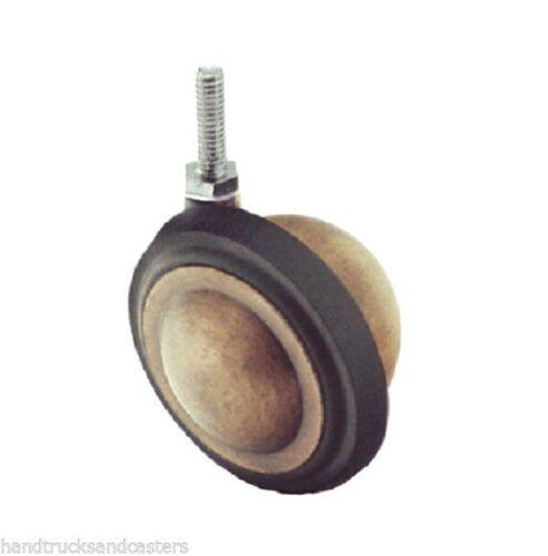 "Shepherd Soft Tread 2-1//2/"" Ball Caster Windsor Antique with 1//4/"" Threaded Stem"