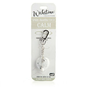 Wishstone-Collection-White-Howlite-Tranquility-and-Aids-Memory-Heart-Bag-Charm