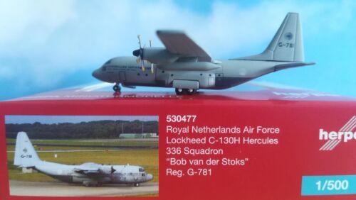 1:500 Herpa Wings 530477  Royal Netherlands Air Force Lockheed C-130H Hercules