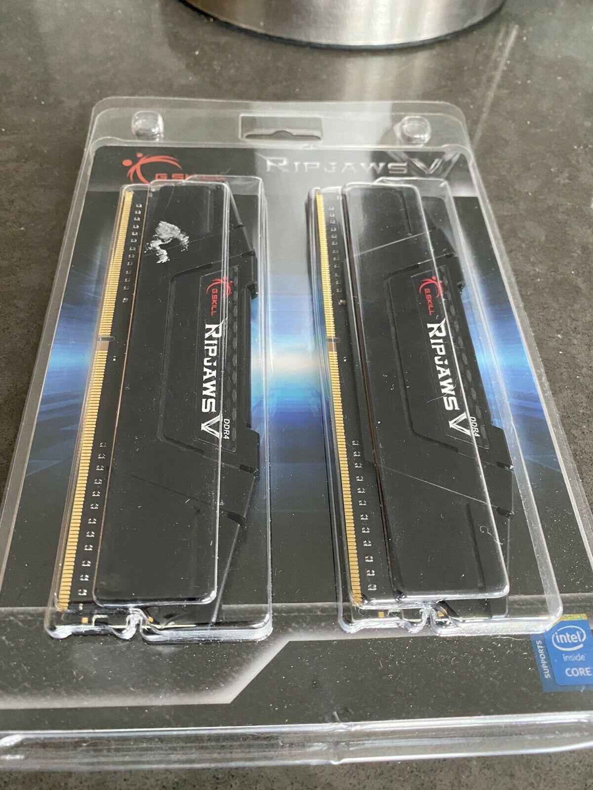 New G.Skill Ripjaws V Series 16GB (8GBx2) DDR4 PC4-25600 3200MHz - CL3048. Buy it now for 60.00