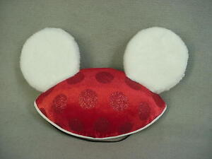 Mickey-Mouse-Minnie-Mouse-Christmas-Ear-Hat-Disney-Parks-Youth-Size-NEW-NWT