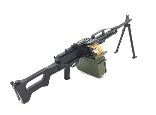 1//6 Scale PKP Medium Machine Gun Russian Army Gun Model Toys Action Figure