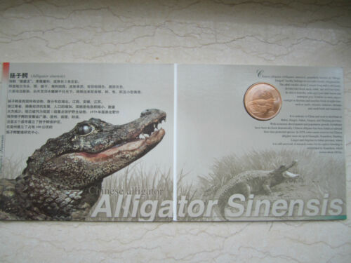 China 1993~1999 Rare Wild Animals Series Set Complete 10 Coins in Each Folder