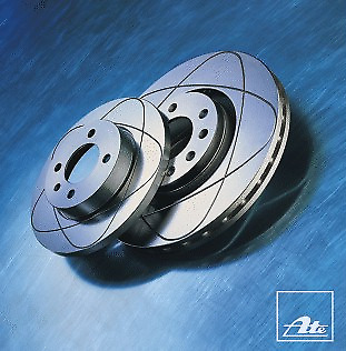 2 Stück ATE 24.0322-0150.1 Bremsscheibe Power Disc