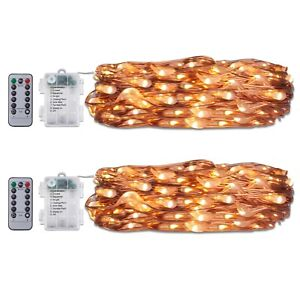 2-String-Lights-60-LED-6M-Battery-Operated-with-8-Lighting-Modes-Timer-8-Mode-WW