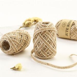 Ornament-Lace-Rustic-Hessian-Ribbon-Jute-Burlap-Rolls-Fish-Silk-Rope-Trims-Tape