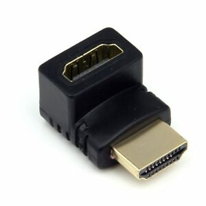 90-270-Degree-Right-Angle-Angled-HDMI-Male-to-Female-Adapter-Connector-Cable