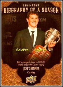 UPPER-DECK-2011-JEFF-SKINNER-NHL-CAROLINA-HURRICANES-BIOGRAPHY-OF-A-SEASON-BOS6