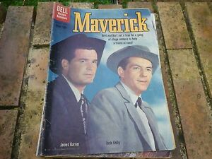 DELL-RARE-MAVERICK-9-MARCH-APRIL1960-VERY-GOOD-TRES-BON-ETAT-voir-photos