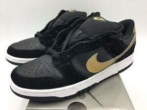 size 40 b99c7 681e0 Details about 2003 Nike Dunk Low Pro SB Takashi Black Metallic Gold In Size  9 Vintage