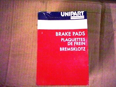 REAR BRAKE PADS  FOR ROVER 45 NP2279