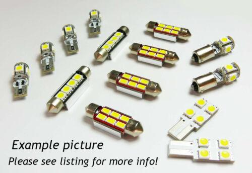 Interior Light LED replacement kit for HONDA CIVIC VIII 8pcs BLUE