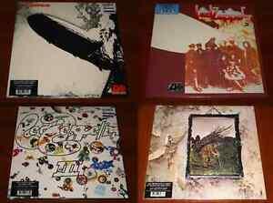 Led Zeppelin I Ii Iii Iv 4x Lp Vinyl Lot Eu Remastered