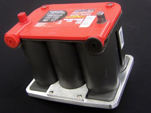 75//25-35 Billet Optima Battery Hold Down Tray,Bracket Mopar//Ford//Chevy Car show