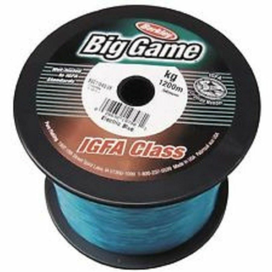 Berkley BIG GAME IGFA bluee Bulk Fishing Line 4981m 24Kg .68mm 53LB BGC524KG-EB