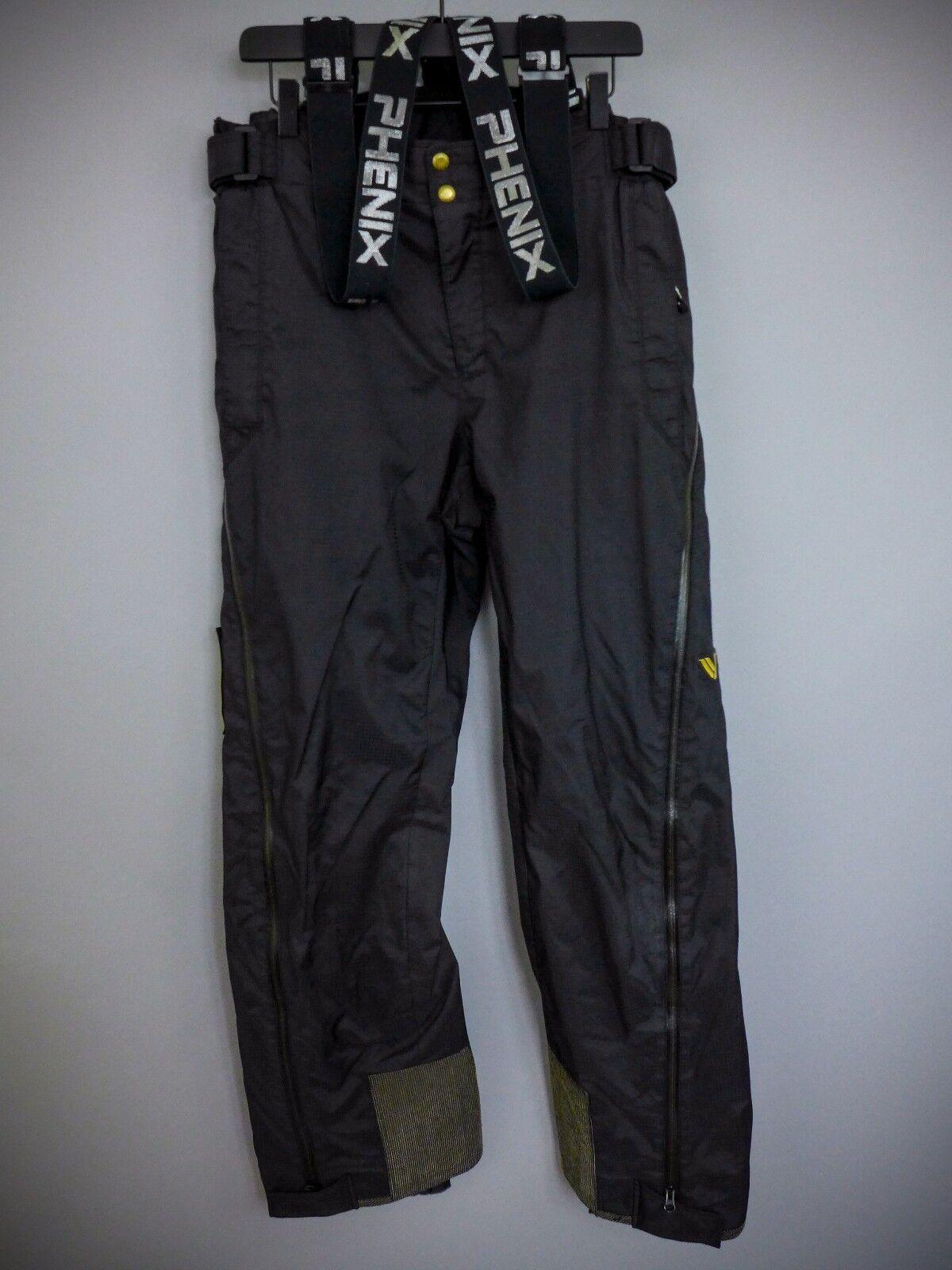 XII362 Men Phenix Diaplex Skiing Snowboarding Salopettes 52 W36  L33  simple and generous design