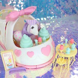 Vintage-My-Little-Pony-SATIN-SLIPPER-SWEET-SHOPPE-Ice-Cream-SCOOPS-G1-MLP-H809
