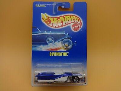 1992 Hot Wheels Swingfire #214 With 7-Spoke Wheels