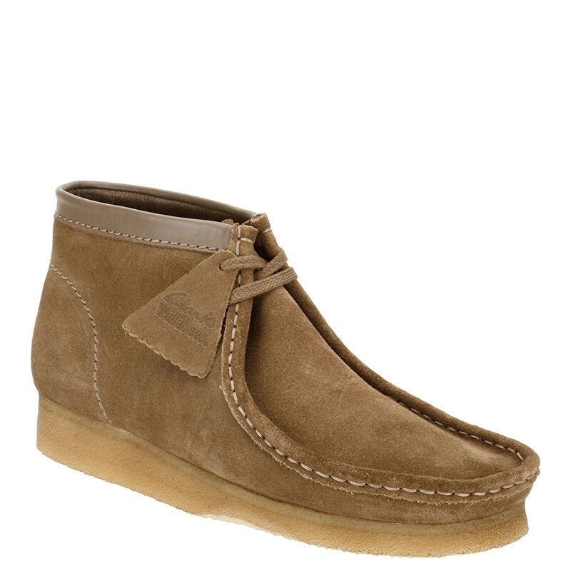 Clarks Originals Men  X WALLABEES    Stiefel  WALNUT SUEDE  UK 6,7,8,9,10 G 946c33