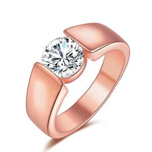 Ring-925-Silber-NEU-Zirkon-Vergoldet-Damenringe-Eheringe-Verlobungsringe-Schmuck