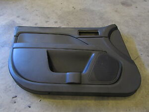 2008 Ford Fusion Sel Front Left Drivers Side Black Door