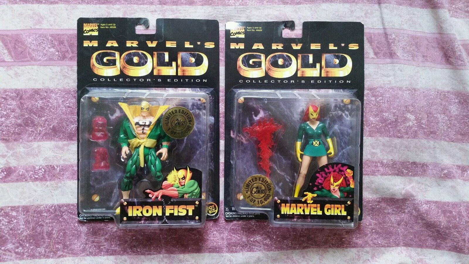 Marvel gold iron fist marvel girl