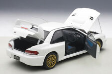 Autoart SUBARU IMPREZA 22B WHITE UPGRADED VERSION LE of 1500 1/18 Scale In Stock