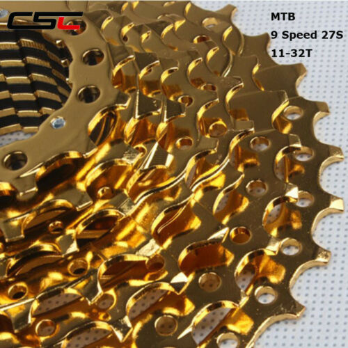 9 Speed Cassette 11-32T 27S  Bicycle Freewheel Sprocket For SH1MAN0 Groupset