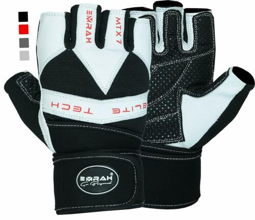EMRAH Weight Lifting Gloves Exercise Gym Workout Training Fitness