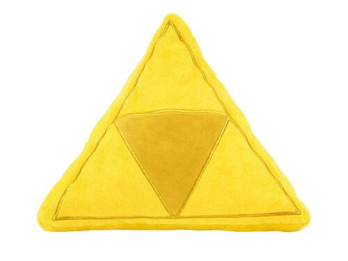 1x Little Buddy 1381 The Legend of Zelda Tri-Force Gold Stuffed Cushion Plush