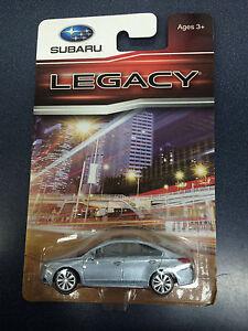 Official-Genuine-Subaru-2015-Legacy-1-64-Die-Cast-Toy-Car-202824-Silver-New-OEM