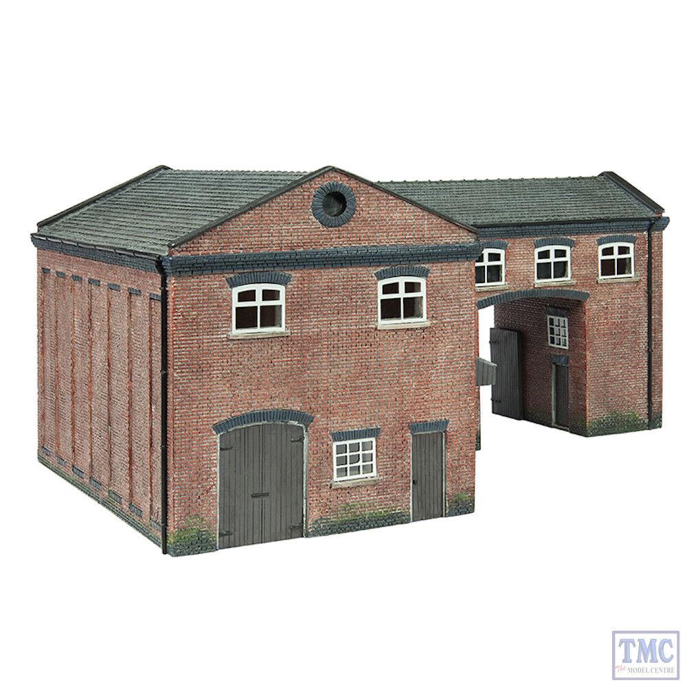 44-0086 Scenecraft OO Gauge Industrial Gate House