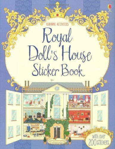1 of 1 - Royal Doll's House Sticker Book (Doll's House Sticker Books),New Condition