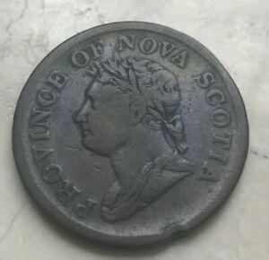 1832-Nova-Scotia-1-One-Penny-Big-Copper