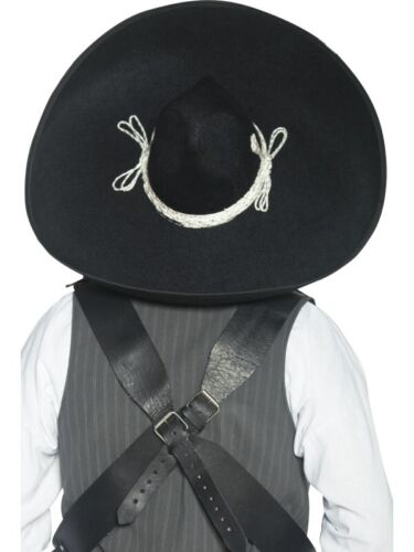 Authentique mexicain Bandits-sombrero noir