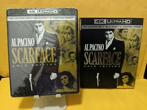 SCARFACE-GOLD-EDITION-4K-ULTRA-HD-BLURAY-DISCS-ONLY-NO-DIGITAL-W-SLIPCOVE