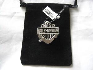 Harley-Davidson-Big-B-amp-S-Silver-Ride-Bell-Gluecksglocke-Glocke-Gloeckchen-HRB024
