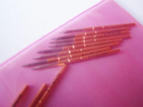 ver foto !!! b014 ligeramente prüfstifte 12 St Ingun