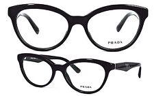 Prada  Fassung Brille / Glasses  VPR 11R 52[]17 1AB-1O1 140  Nonvalenz  /318(24)