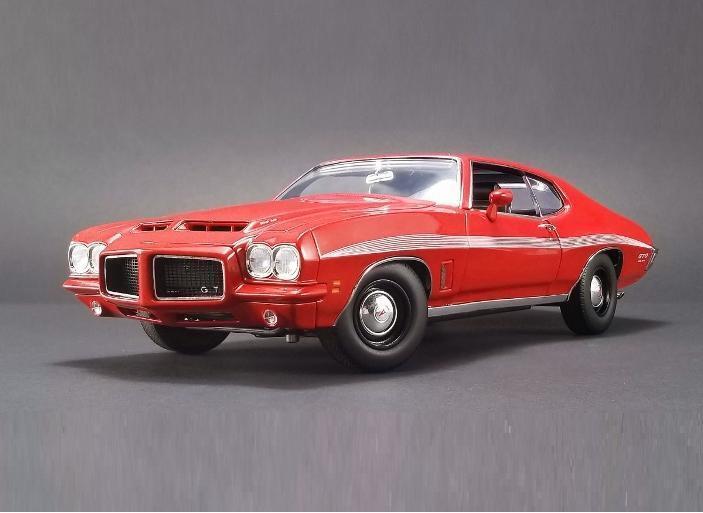 ACME 1 18 Pontiac 1972 LeMans GTO Diecast Model Car Red A1801210
