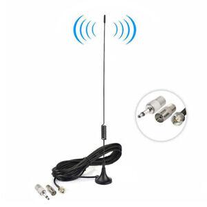 Indoor DAB FM Digital Radio HiFi Stereo Magnetic Base F Type Plug Aerial Antenna