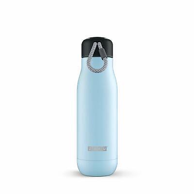 Klug Zoku Hellblau 0,53l Vakuum Isolierte Thermo Trinkflasche Aus Edelstahl Hält 12h Sonstige