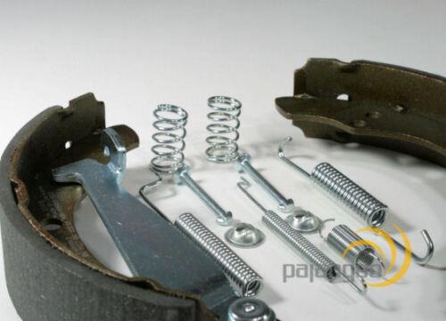 Peugeot 107 Zimmermann Bremstrommel Bremsbacken Set Zubehör Radzylinder hinten